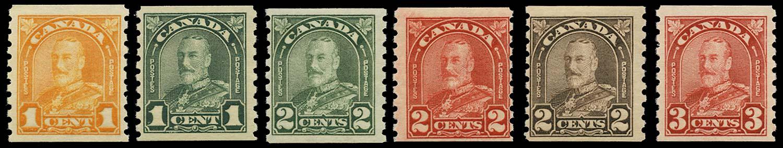 CANADA 1930-1  SG304/9 Mint