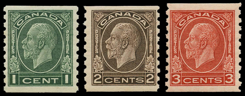 CANADA 1933  SG326/8 Mint