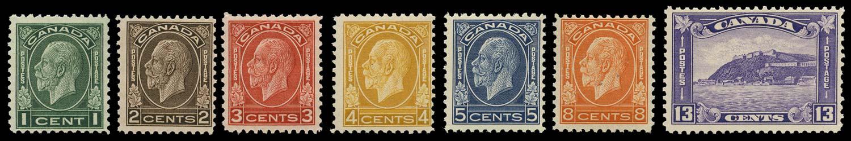 CANADA 1932  SG319/25 Mint