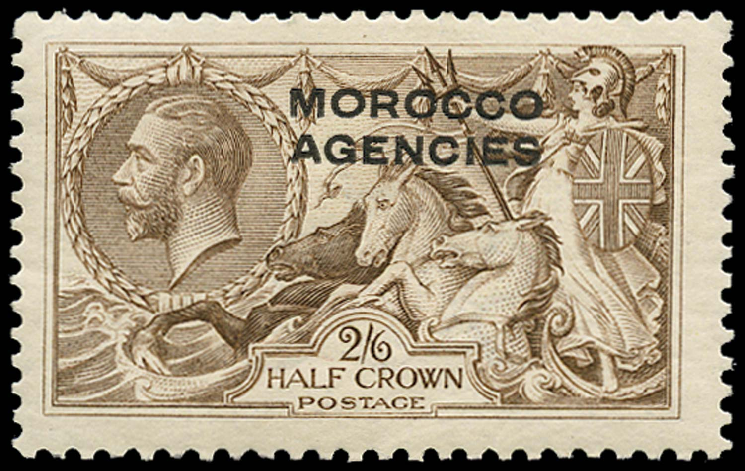 MOROCCO AGENCIES 1914  SG53 Mint
