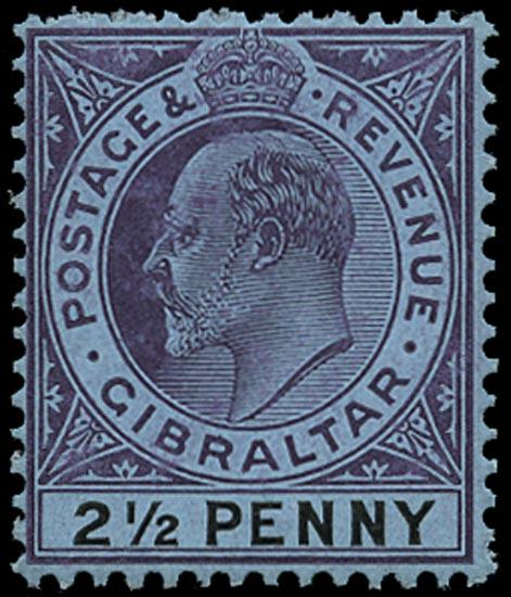 GIBRALTAR 1904  SG59 Mint