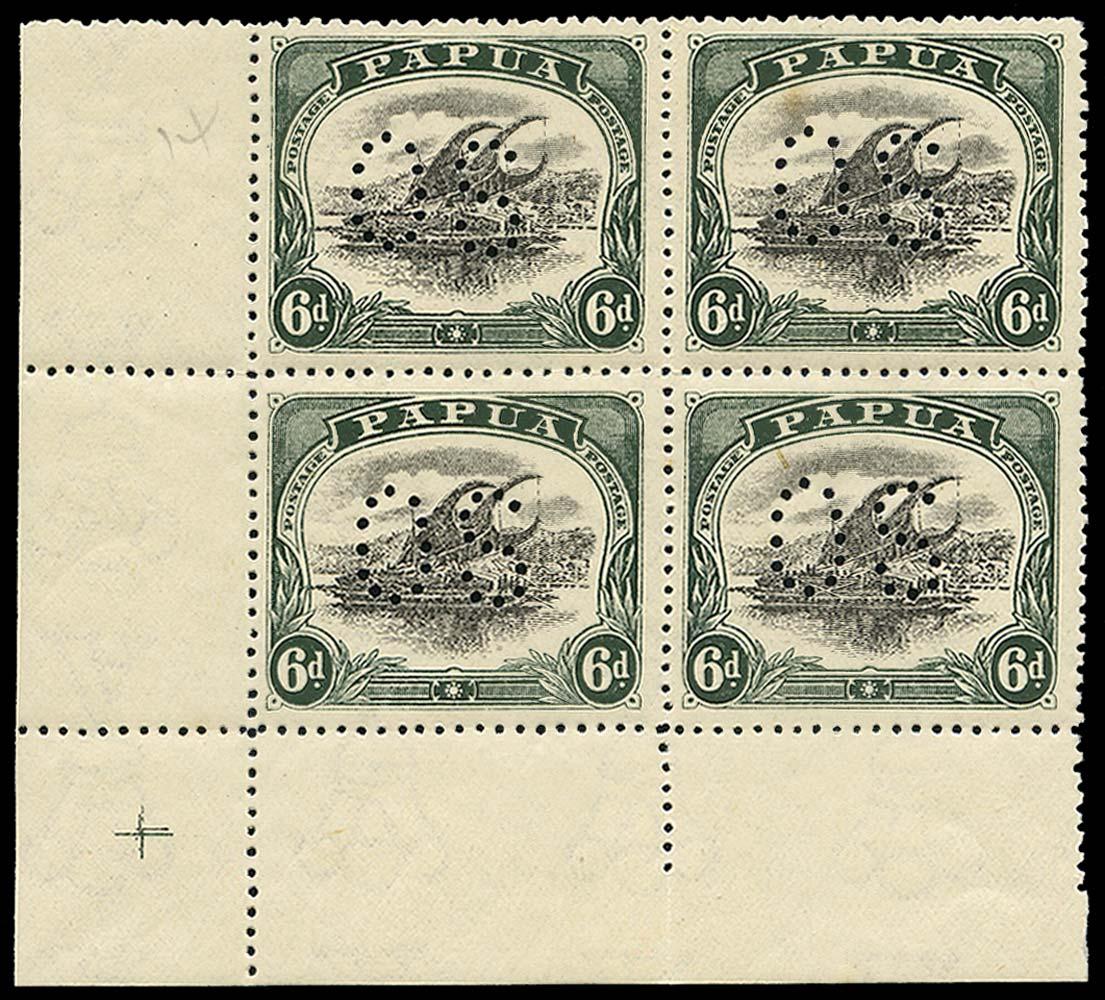 PAPUA 1910  SGO34 Official