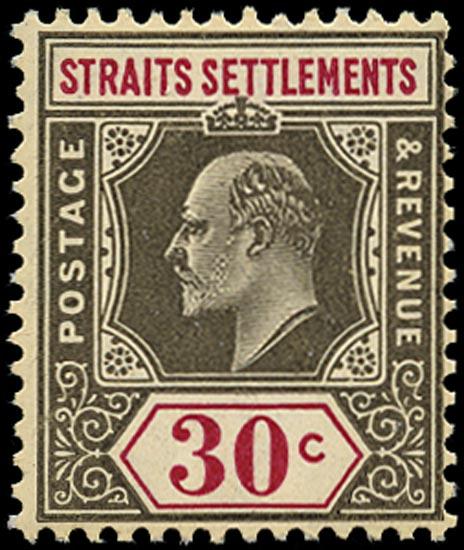 MALAYA - STRAITS 1904  SG134a Mint