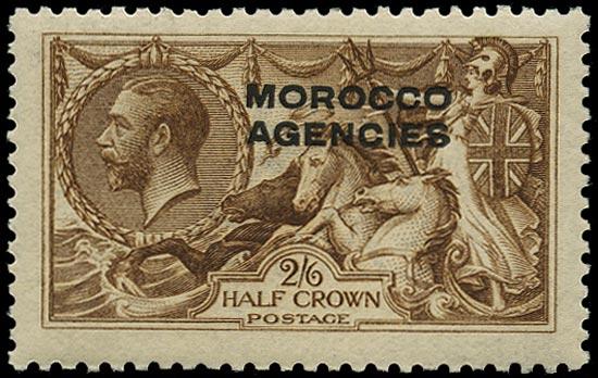 MOROCCO AGENCIES 1914  SG51 Mint