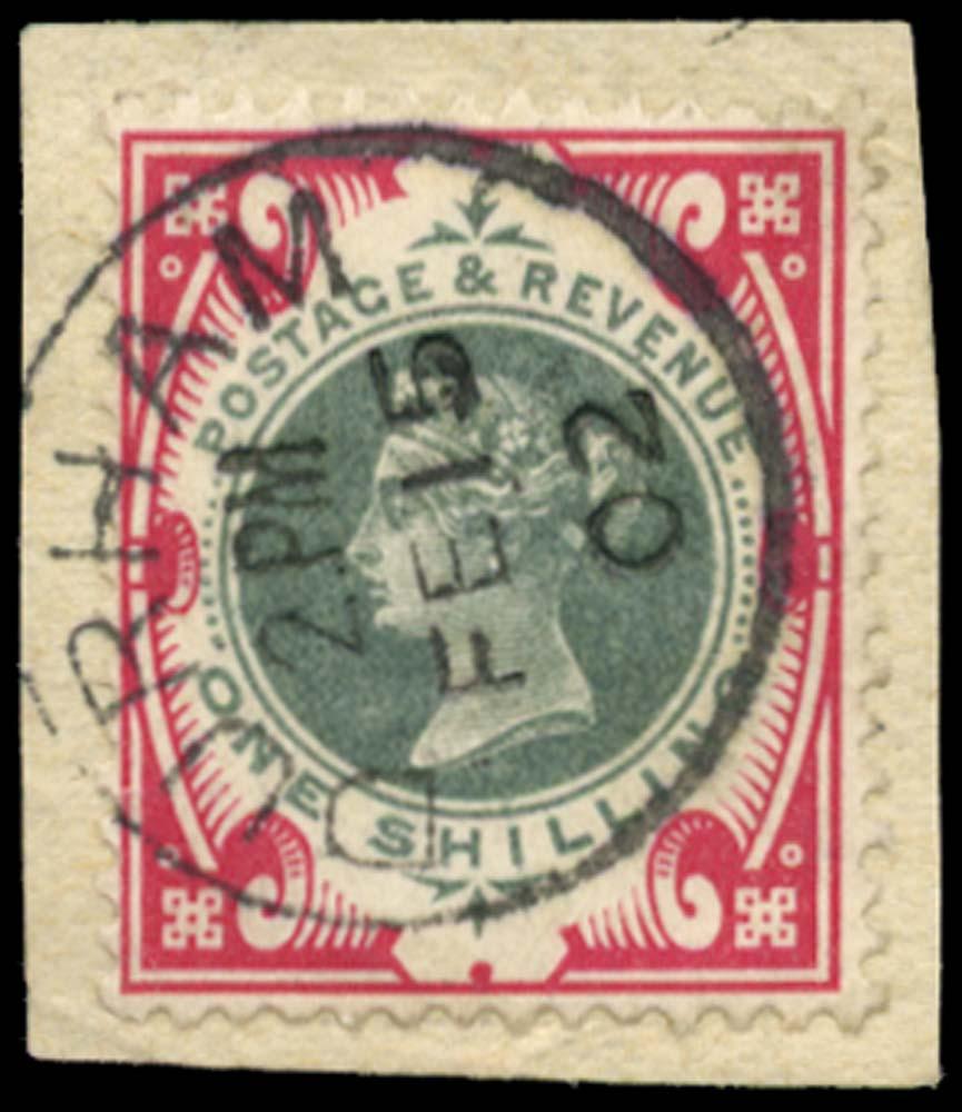GB 1900  SG214 Used