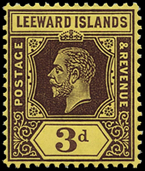 LEEWARD ISLANDS 1912  SG51a Mint