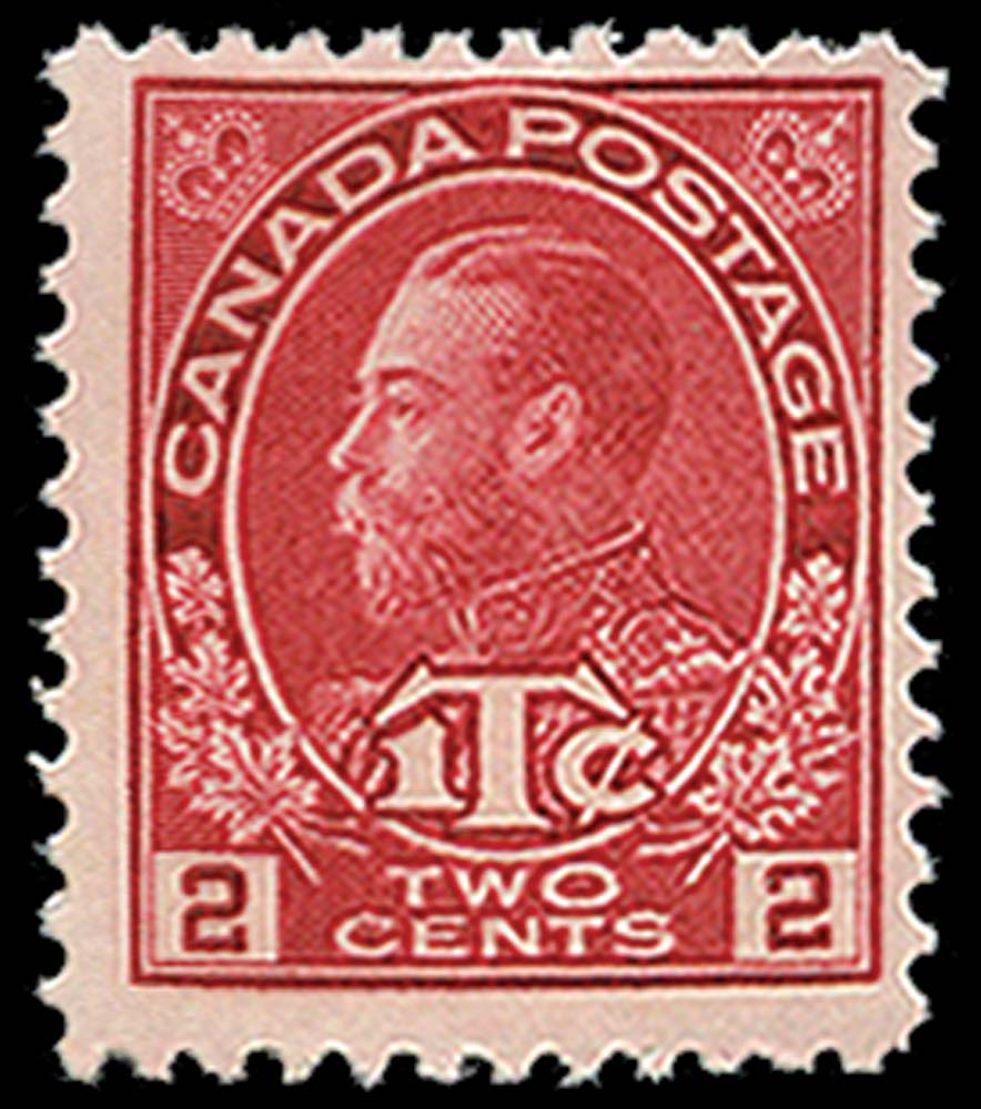 CANADA 1916  SG232 Mint