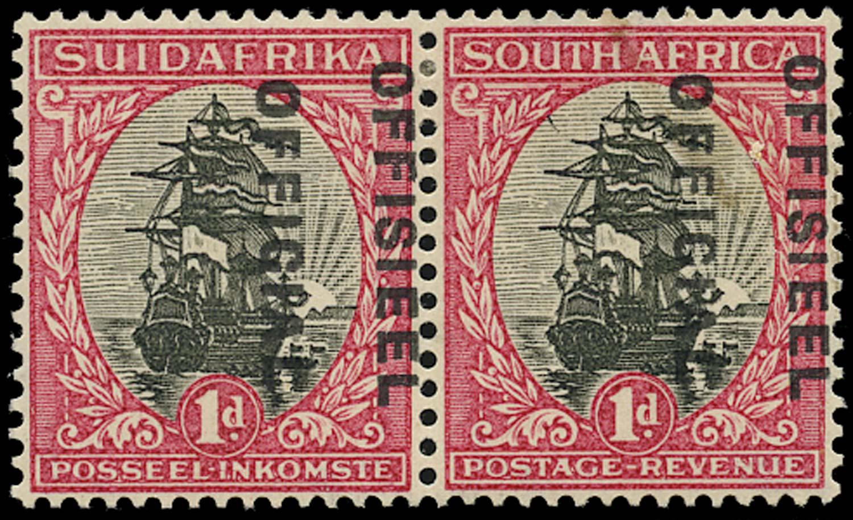 SOUTH AFRICA 1930  SGO13cw var Official