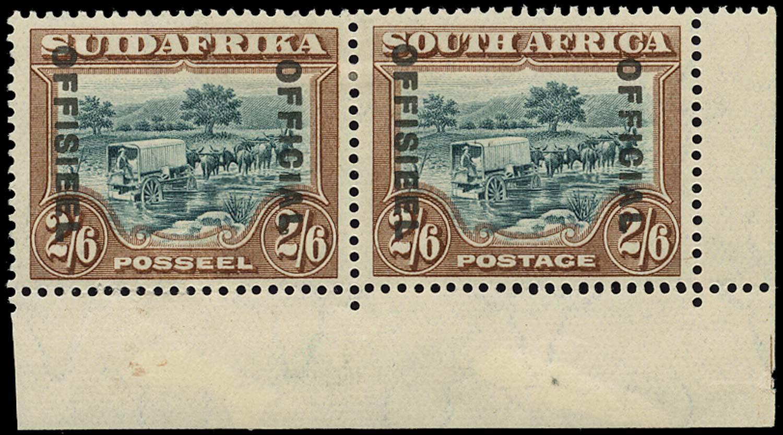 SOUTH AFRICA 1929  SGO11 Official