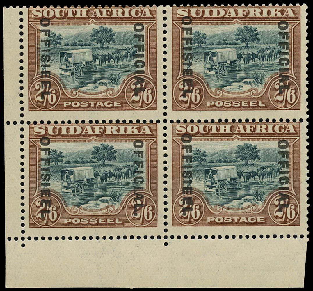 SOUTH AFRICA 1929  SGO11/a Official