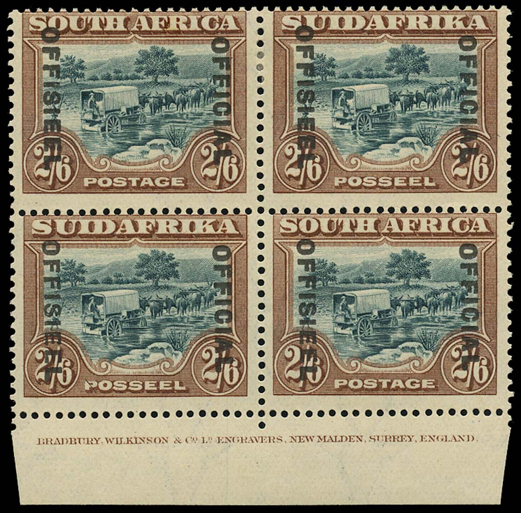 SOUTH AFRICA 1929  SGO11 Official