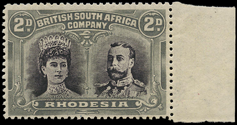 RHODESIA 1910  SG127 Mint