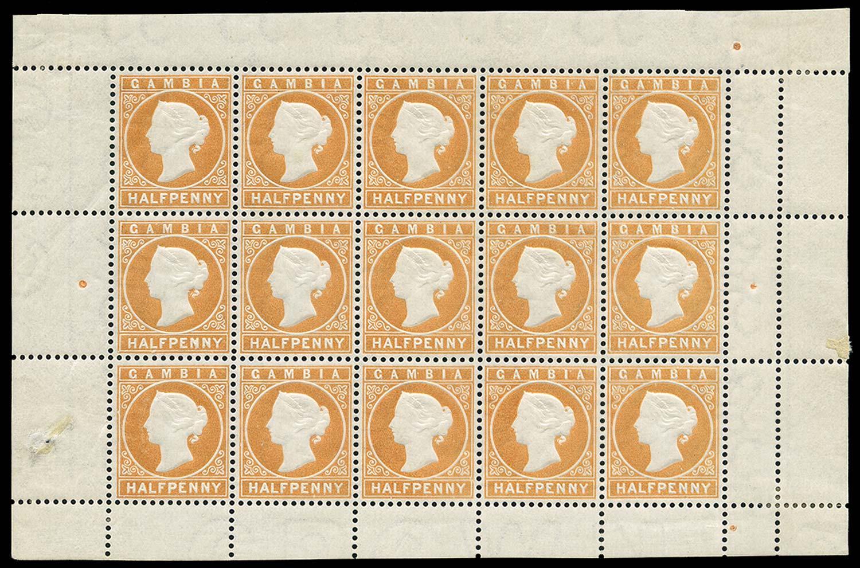 GAMBIA 1880  SG11B Mint