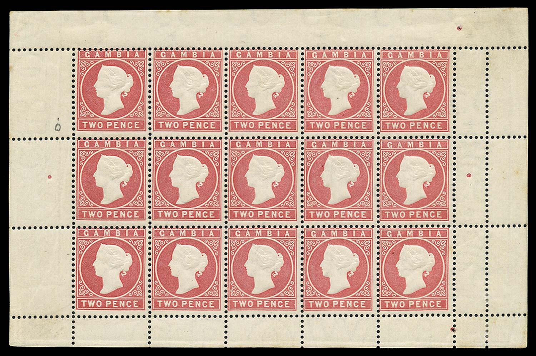 GAMBIA 1880  SG13B Mint
