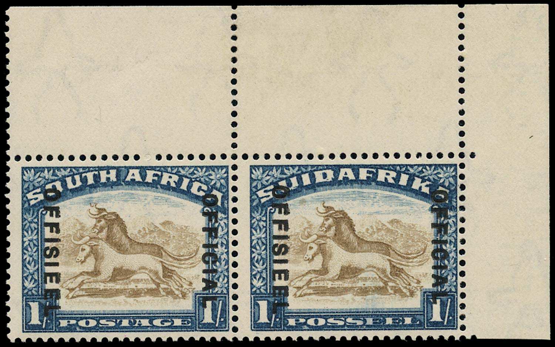 SOUTH AFRICA 1930  SGO17a Official