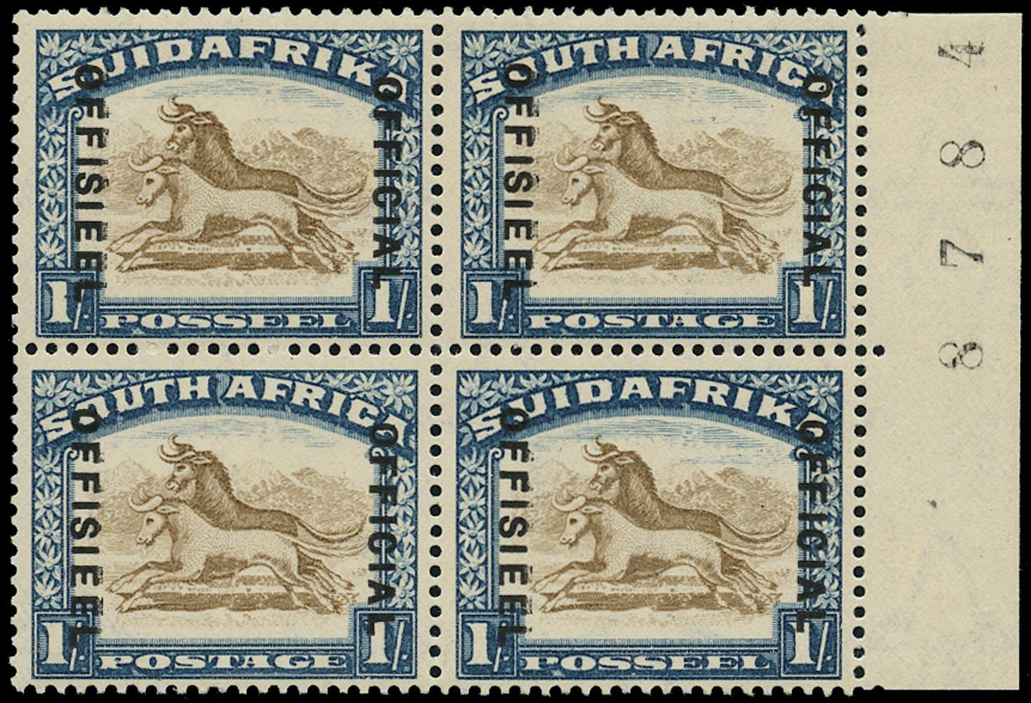 SOUTH AFRICA 1930  SGO17 Official