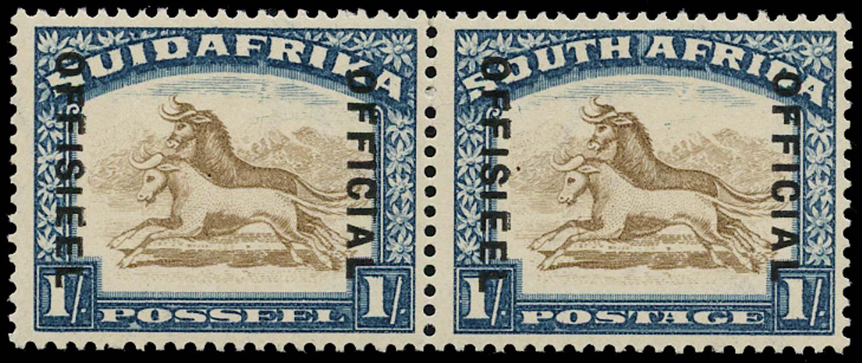 SOUTH AFRICA 1930  SGO17 var Official
