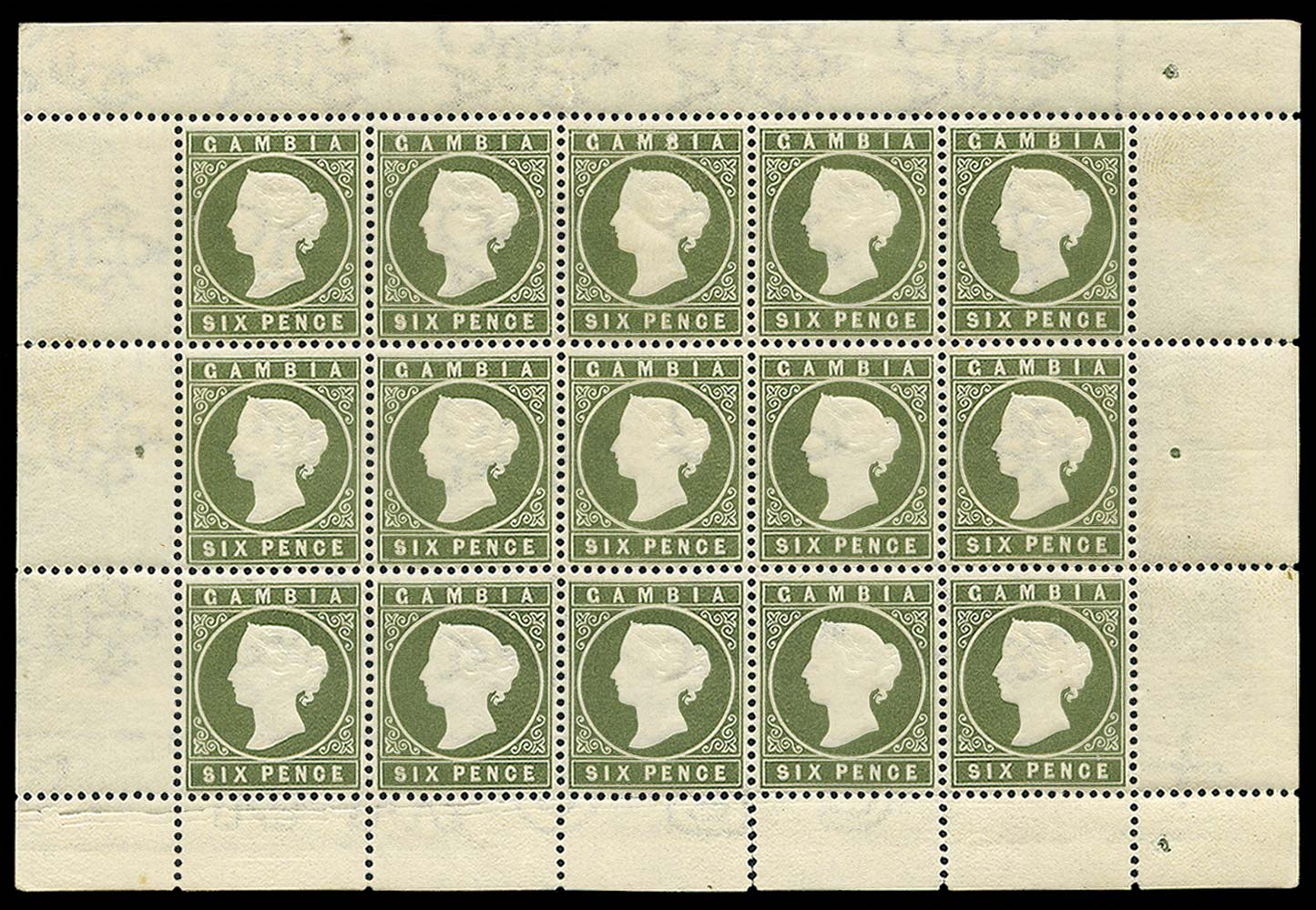 GAMBIA 1886  SG34 Mint