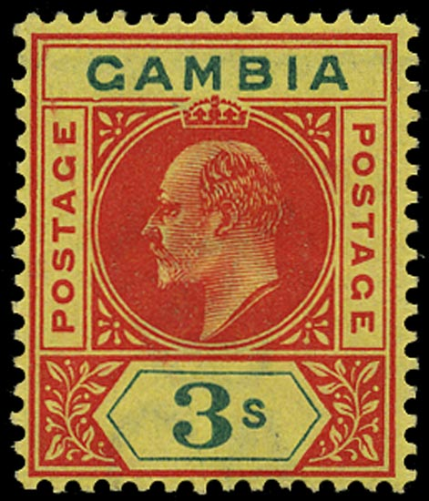 GAMBIA 1902  SG56a Mint