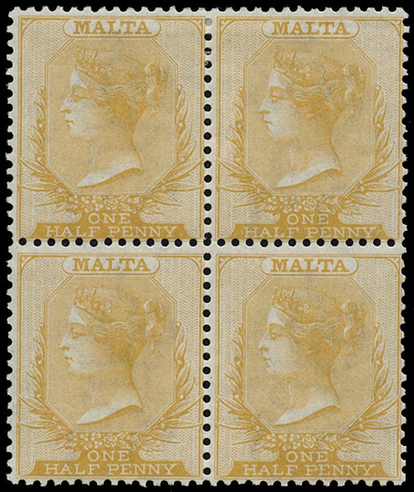 MALTA 1863  SG10 Mint