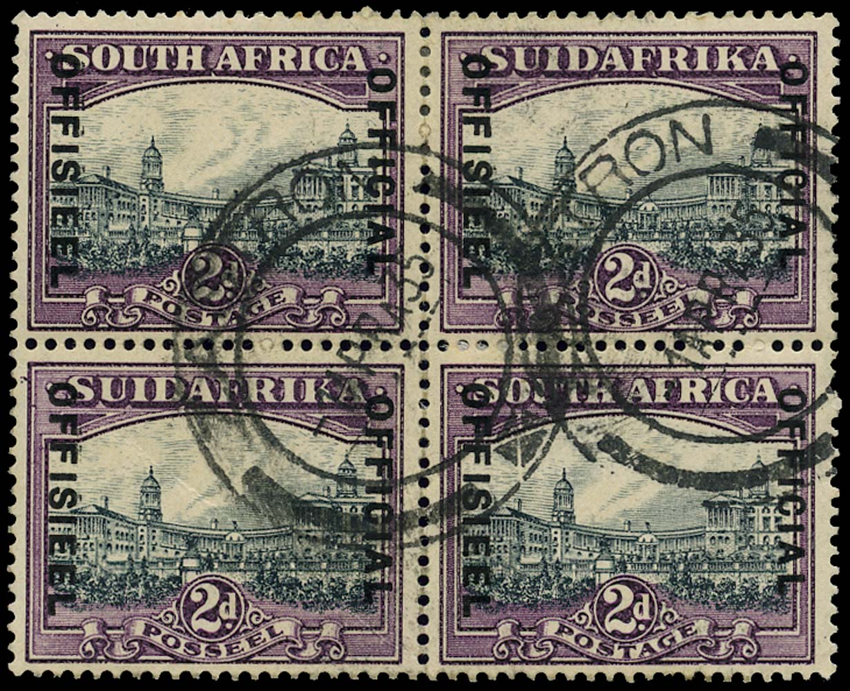 SOUTH AFRICA 1930  SGO14w Official