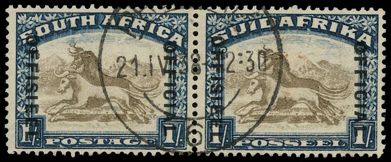 SOUTH AFRICA 1930  SGO17ba Official