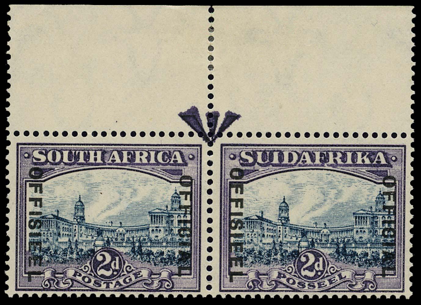 SOUTH AFRICA 1930  SGO15 var Official