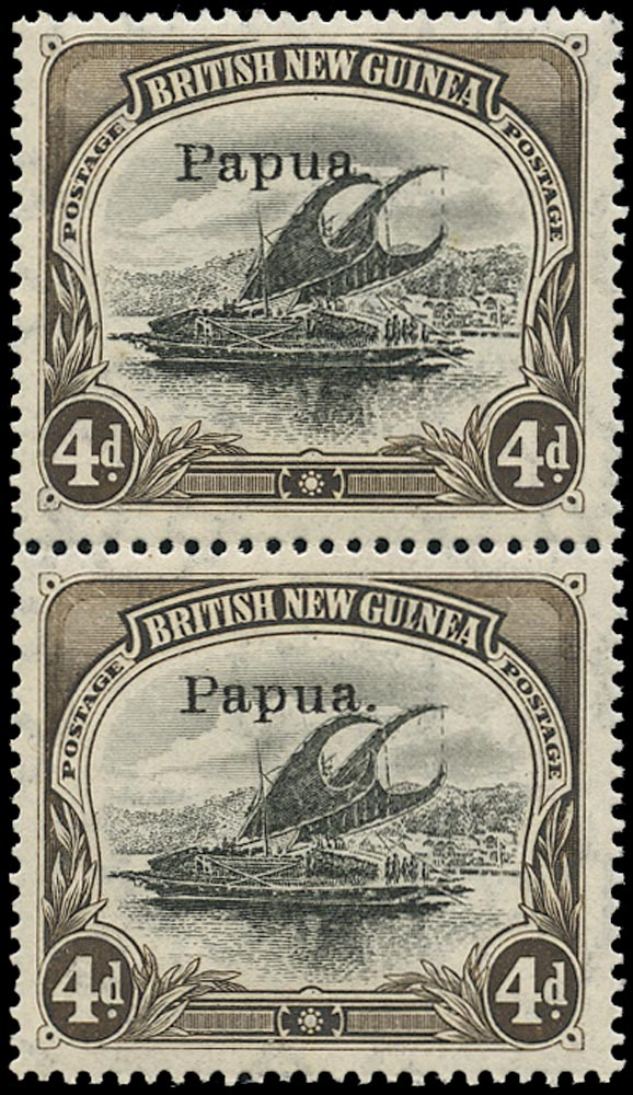 PAPUA 1907  SG42a Mint