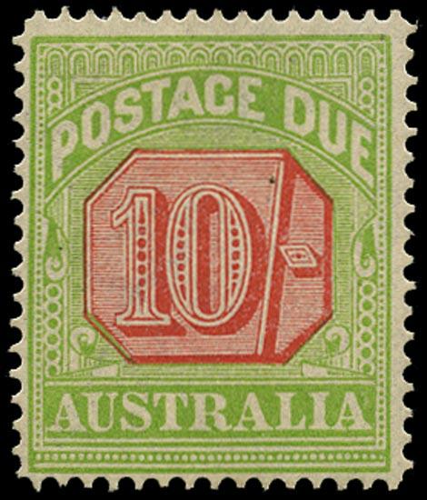 AUSTRALIA 1912  SGD86 Postage Due