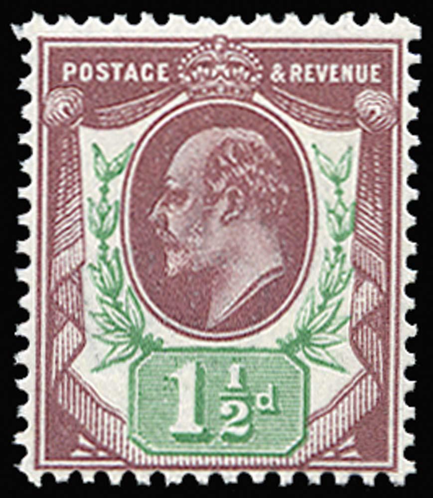 GB 1911  SG287 Mint