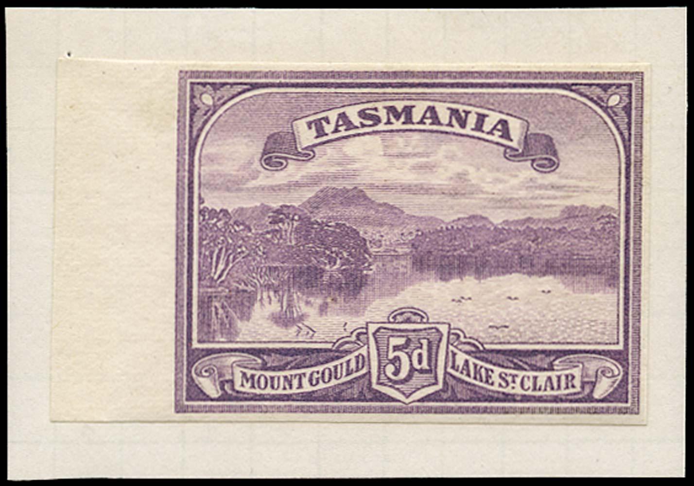 TASMANIA 1899  SG235 Proof