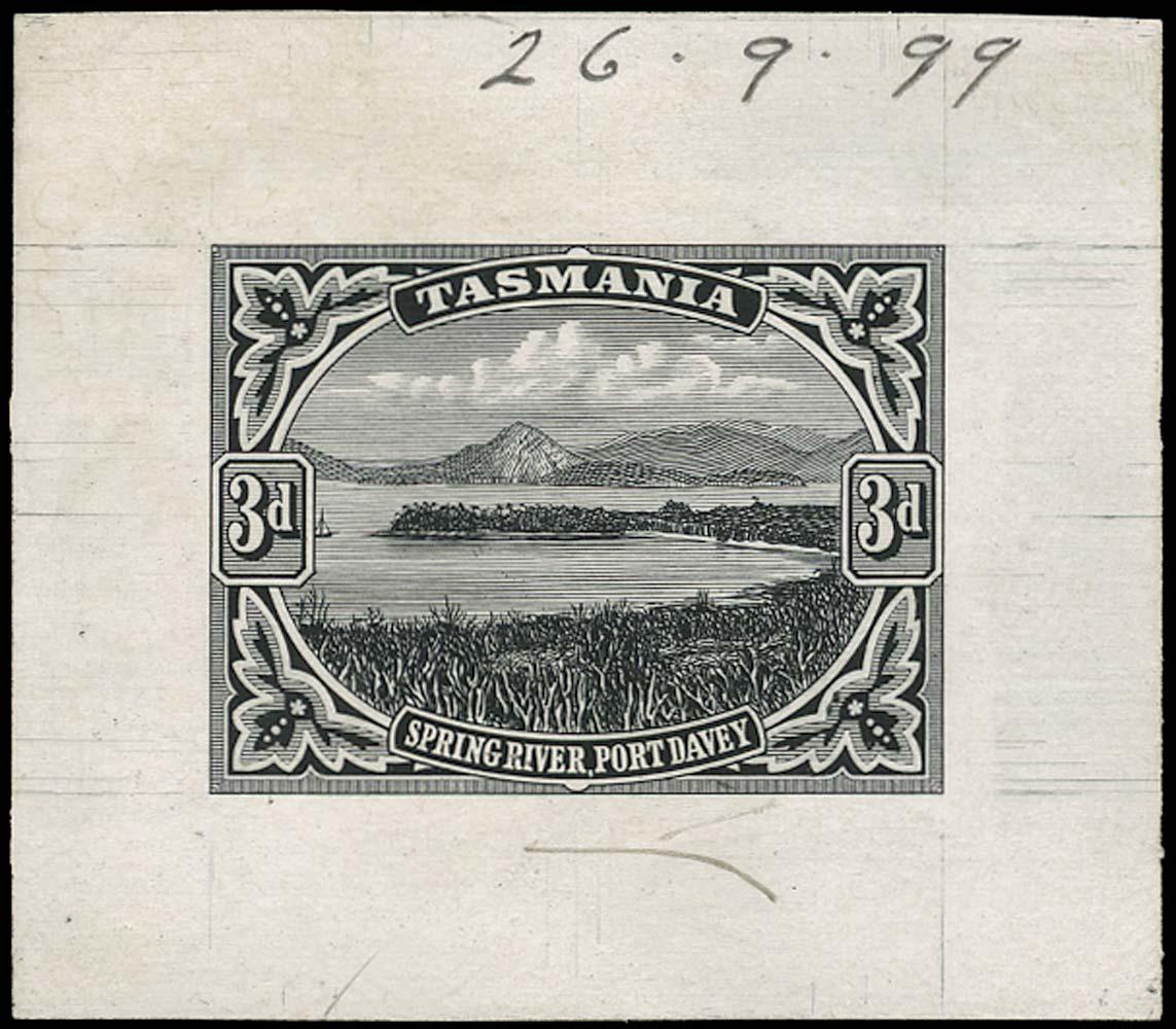 TASMANIA 1899  SG233 Proof