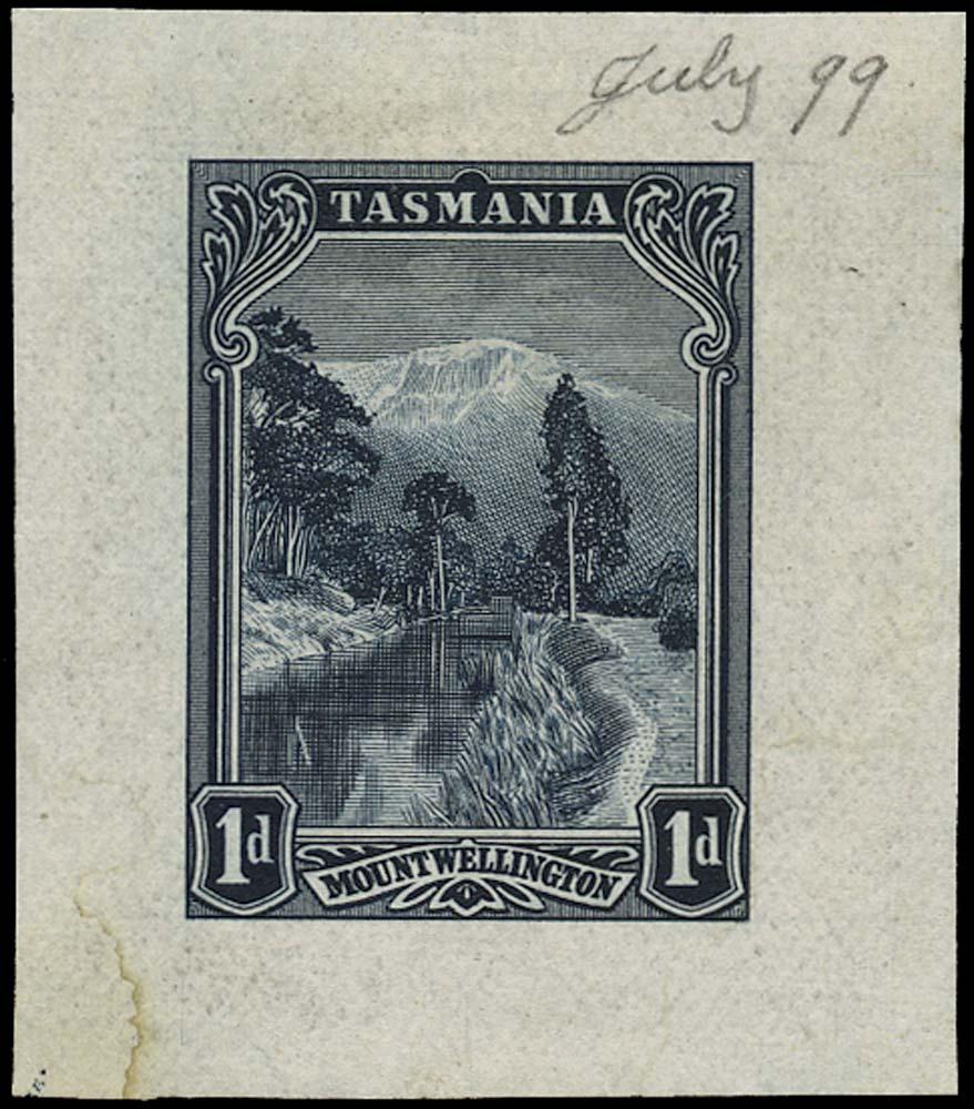 TASMANIA 1899  SG230 Proof