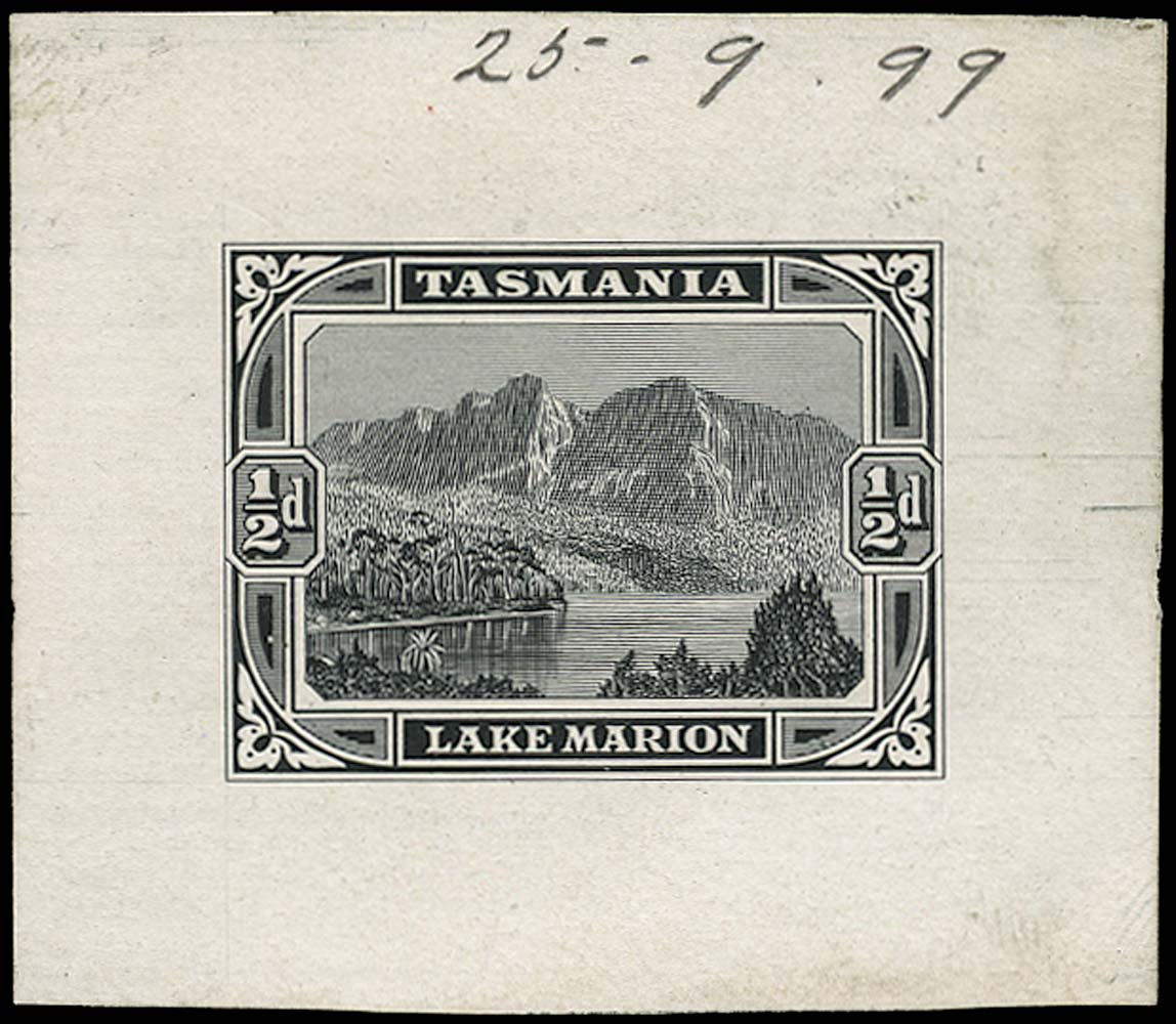 TASMANIA 1899  SG229 Proof