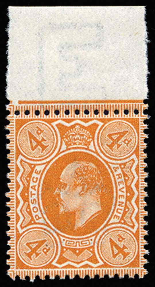GB 1911  SG278 Mint