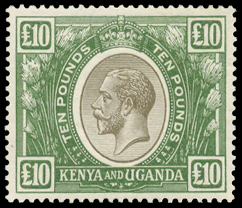 KUT 1922-27  SG100(w) Mint