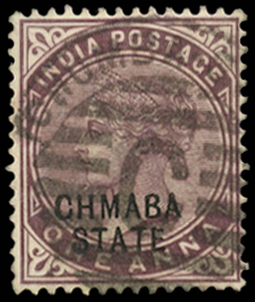 I.C.S. CHAMBA 1887  SG2a Used