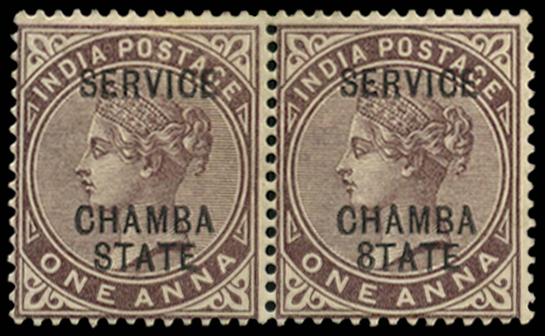 I.C.S. CHAMBA 1887  SGO2/c Official
