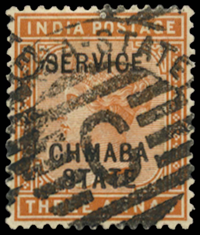 I.C.S. CHAMBA 1887  SGO7a Used