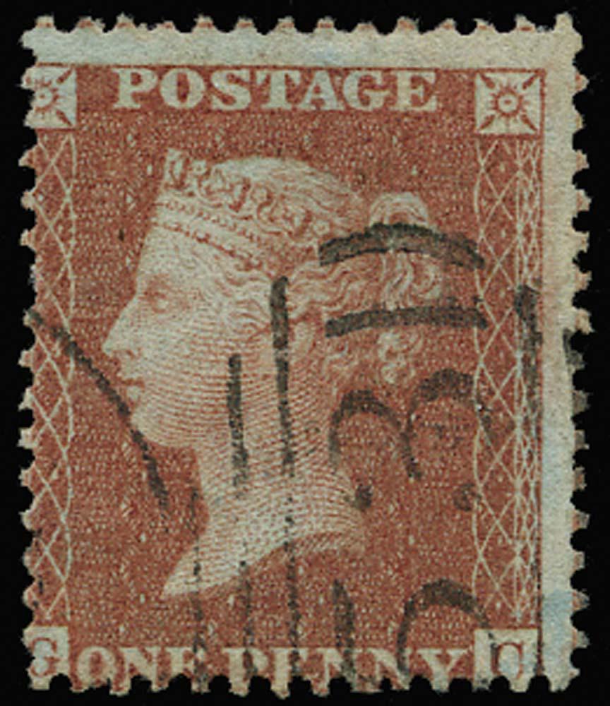 GB 1855  SG29var Pl.24 Used
