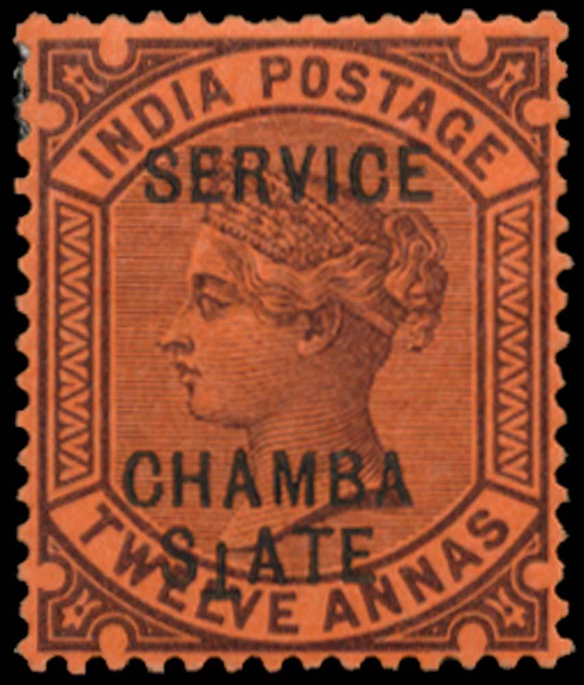 I.C.S. CHAMBA 1887  SGO14b Official