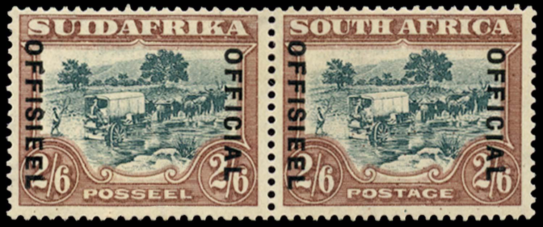SOUTH AFRICA 1930  SGO18a var Official