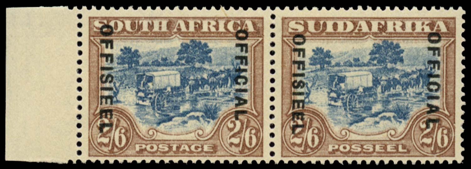 SOUTH AFRICA 1930  SGO19b Official
