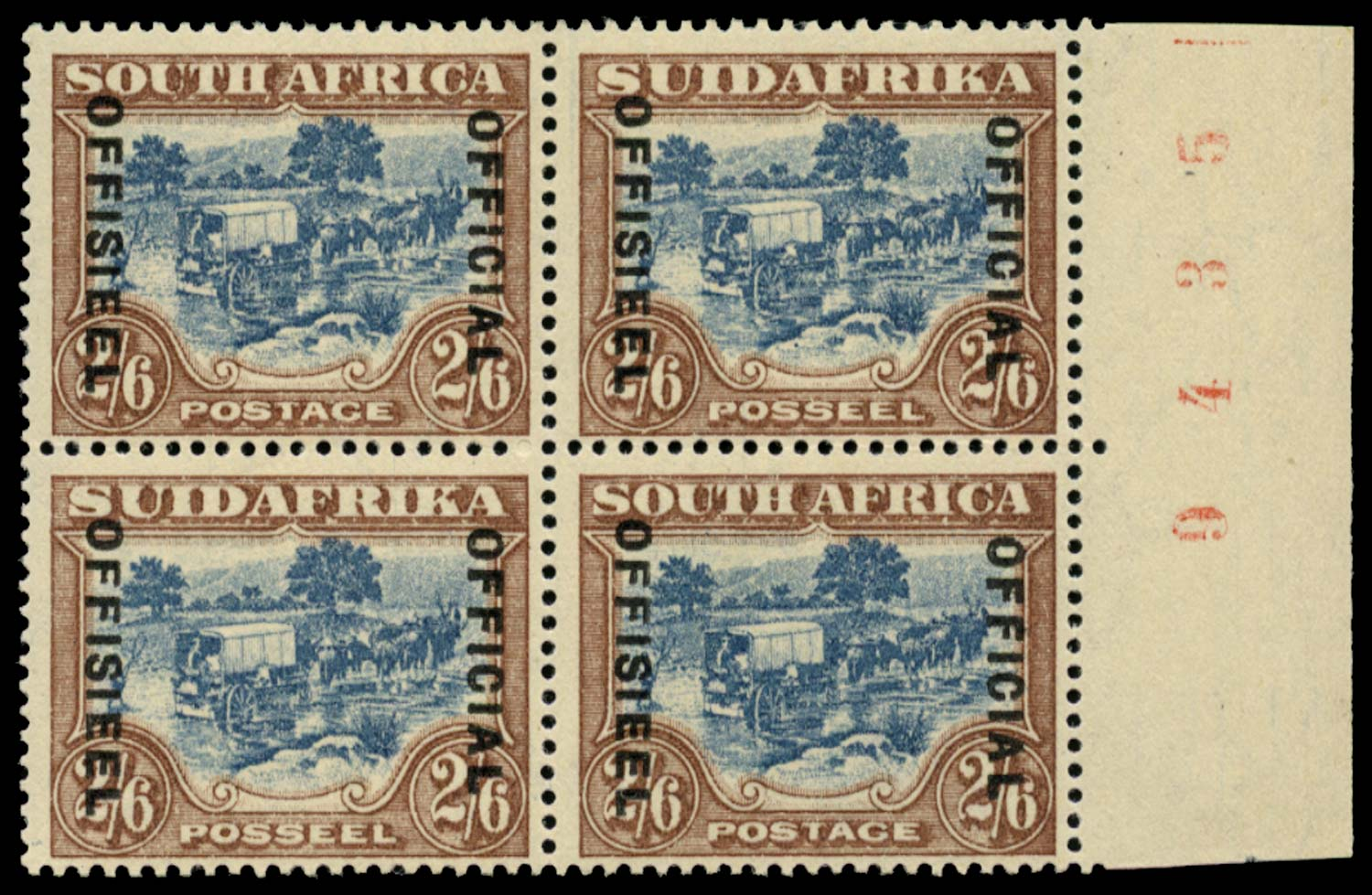 SOUTH AFRICA 1930  SGO19 Official