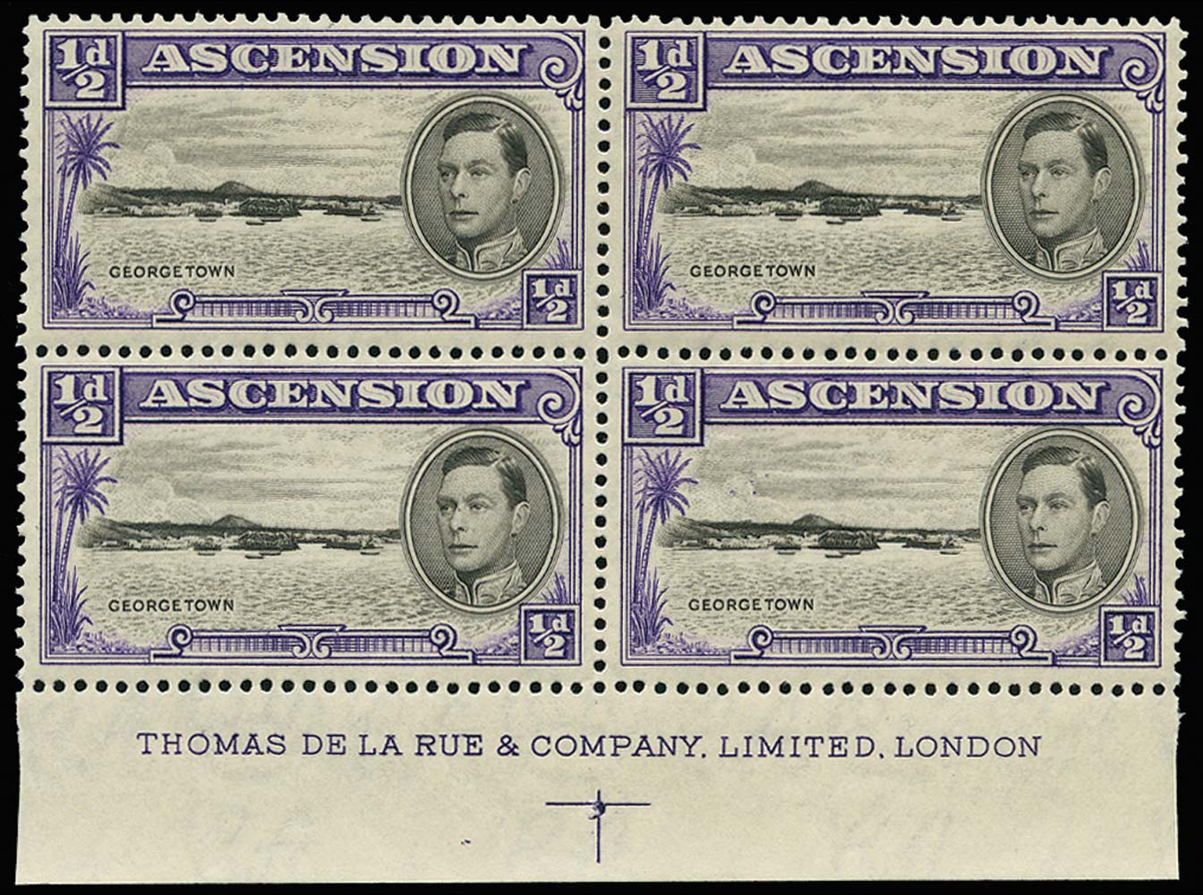 ASCENSION 1938  SG38 Mint