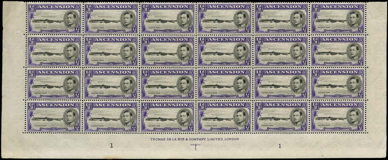 ASCENSION 1938  SG38 Mint