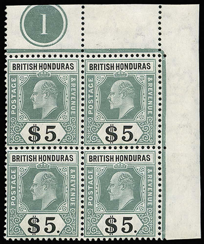 BRITISH HONDURAS 1904  SG93 Mint