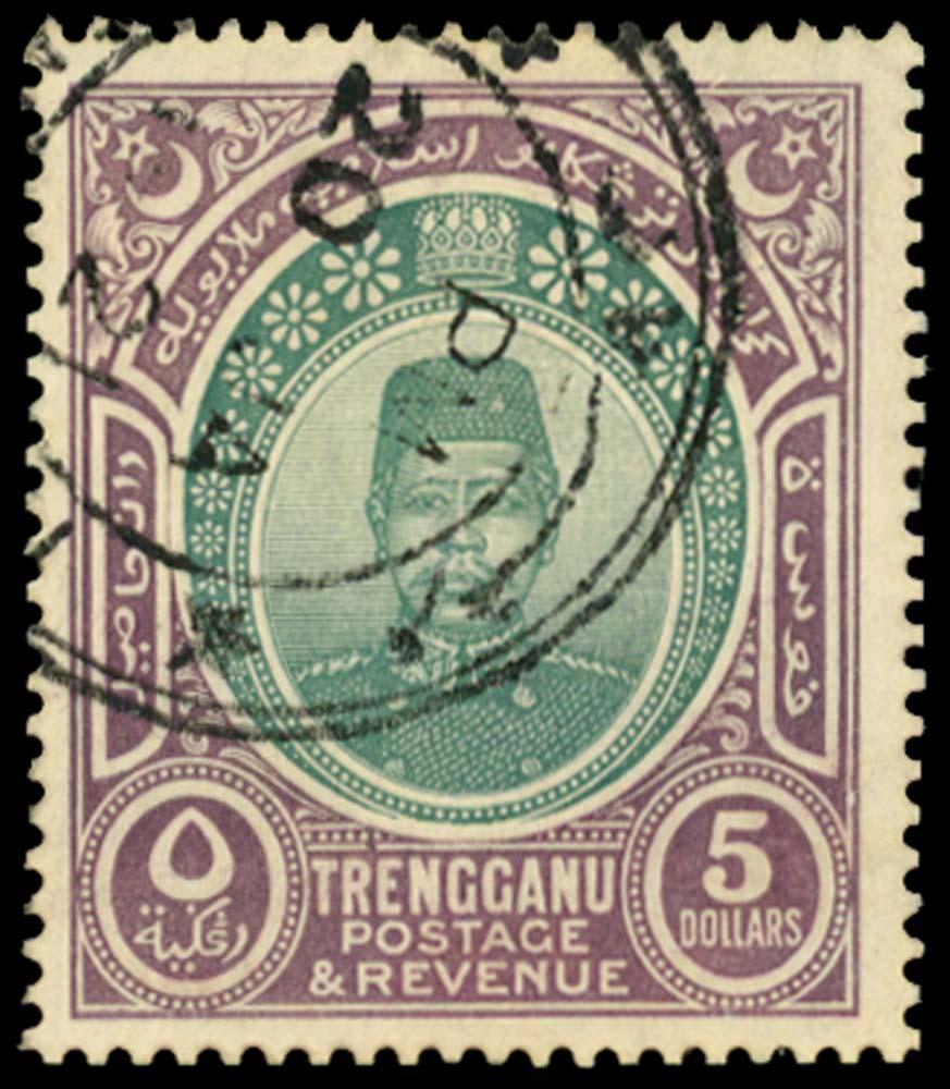 MALAYA - TRENGGANU 1910  SG17 Used