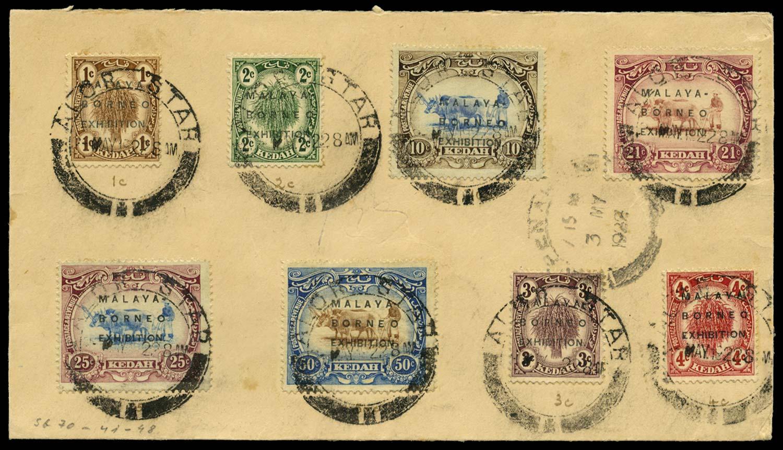 MALAYA - KEDAH 1922  SG41/8 Cover