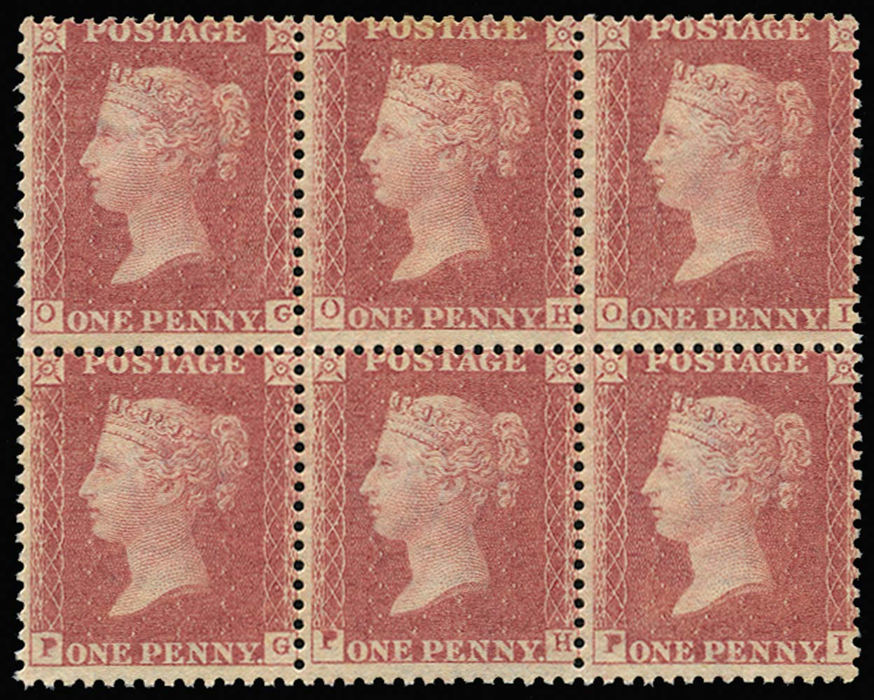 GB 1862  SG40var Pl.R16 Mint